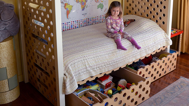 Modular Bunk Bed / Fun Kids Furniture