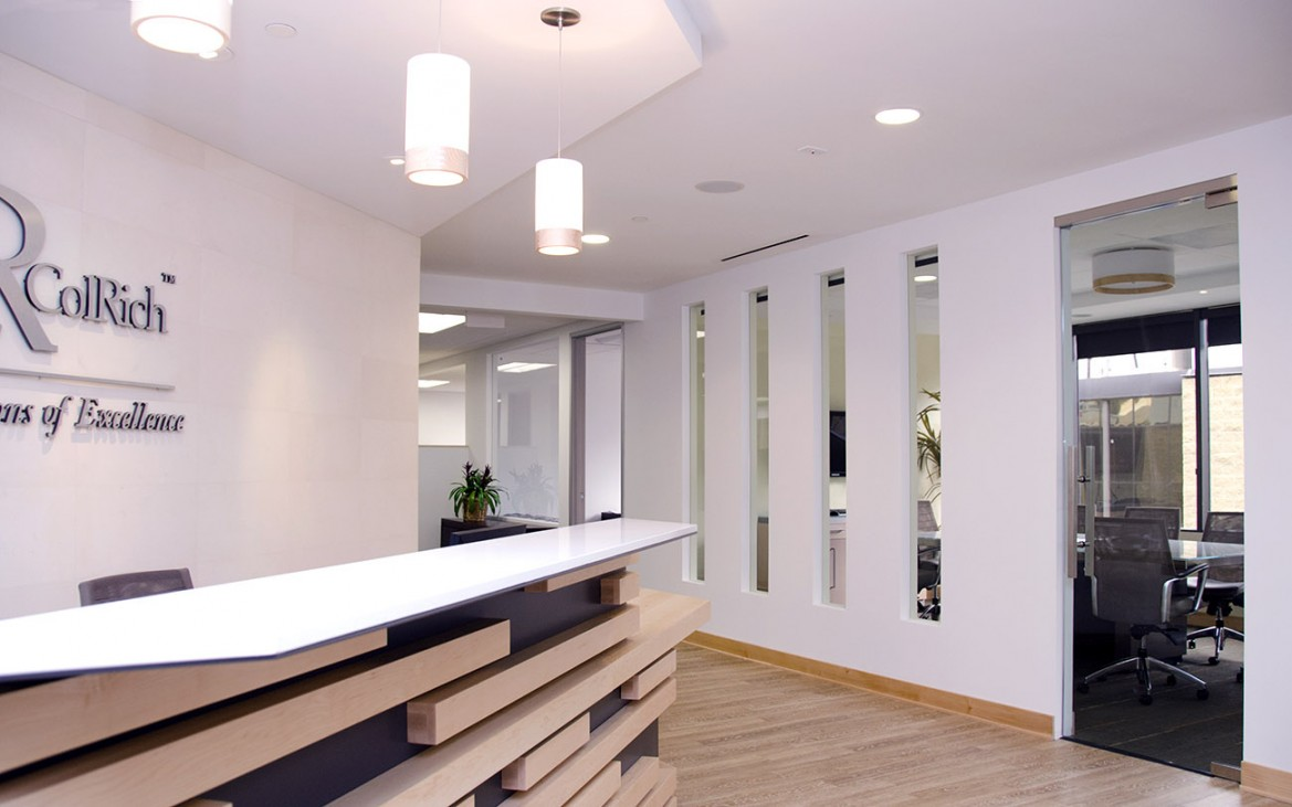 Colrich Headquarters Interior Design San Diego Studio