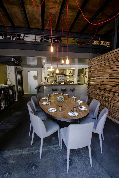 Table no restaurant interior design san diego