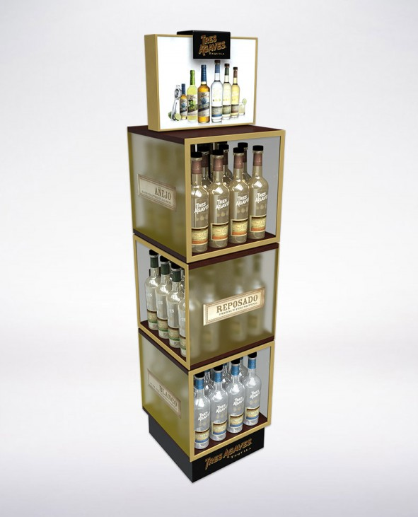 Beverage Displays Retail Stand Design San Diego