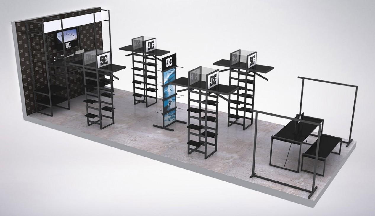 Apparel Displays u2022 Retail Display Design, San Diego u2022 Studio SIMIC