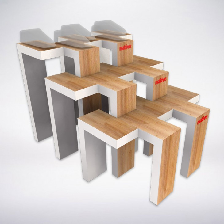 Product Display Stands Design